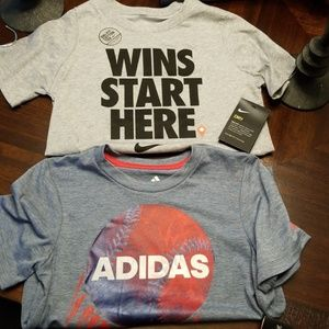 Other - Nike and Adidas shirts
